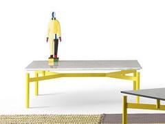 Tavolino basso quadrato in marmo ED | Tavolino in marmo -