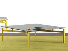Tavolino basso quadrato ED | Tavolino -