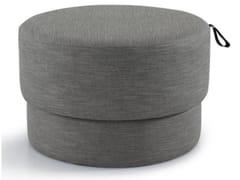 Pouf contenitore rotondo in tessutoED0128 | Pouf - JIANGSU SIKEXIN FURNITURE CO.