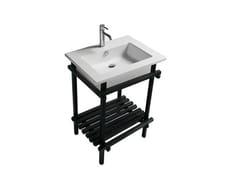 Consolle lavabo in rovere EDEN - 7235 - Eden