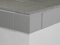 Profili per bordi esterni di terrazze e balconi PROTEC CPAI - Cerfix® Protec