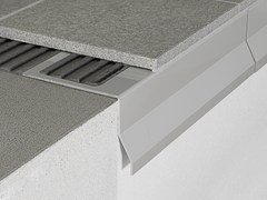 Profili per bordi esterni di terrazze e balconi PROTEC CPBV - Cerfix® Protec