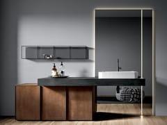 CERAMICA FONDOVALLE, EDONÈ - ACIDIC Mobile lavabo in gres porcellanato