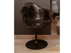 Sedia girevole in policarbonato con braccioliEDRA - ELLA - ARCHIPRODUCTS.COM