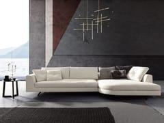 Divano componibile con chaise longueEDUARD NEW | Divano con chaise longue - VALENTINI
