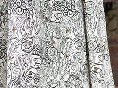 Tessuto ricamato in lino con motivi florealiEFFIGIE - EDEN DADDY - ÉLITIS