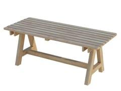 Tavolo da giardino rettangolare in legnoEGEO | Tavolo - ZURI DESIGN