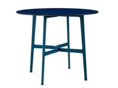 Tavolo da giardino rotondo in HPL EILEEN | Tavolo rotondo -