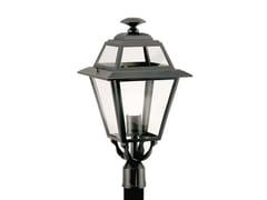 Lampione da giardino a lanterna in alluminio e vetroELEGANCE 859 - SOVIL