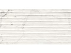 Rivestimento tridimensionale in ceramica effetto marmoELEGANCE | Str. Drape 3D Altissimo - MARAZZI GROUP