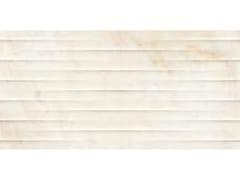 Rivestimento tridimensionale in ceramica effetto marmoELEGANCE | Str. Drape 3D Raffaello - MARAZZI GROUP