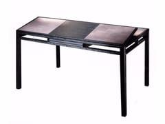 Tavolo allungabile da pranzo in rovere con cassetti ELEMENTARE | Tavolo rettangolare - Elementare