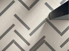 Pavimento/rivestimento in gres porcellanato effetto legnoELEMENTO BIANCO - CERAMICHE MARCA CORONA