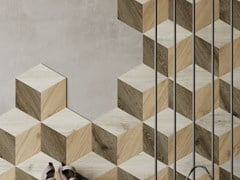 Pavimento/rivestimento in SPC effetto legnoELEMENTS CUBIC - EASY FLOOR