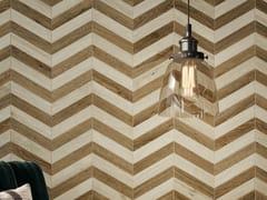 Pavimento/rivestimento in SPC effetto legnoELEMENTS CHEVRON - EASY FLOOR