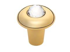 Pomello in ottone con cristalliELIKA CRYSTAL | Pomello - LINEA CALI'
