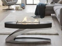 Caminetto freestanding in acciaio inox e vetro a bioetanoloELIPSE Z - SPARTHERM® FEUERUNGSTECHNIK