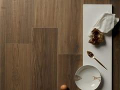 Pavimento in gres porcellanato effetto legnoELISIR ROYAL CASTANO - CERAMICHE MARCA CORONA