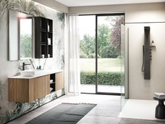 Mobile lavabo sospeso con cassettiELITE 01 - GRUPPO GEROMIN