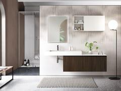 Mobile bagno sospeso con cassettiELITE 02 - GRUPPO GEROMIN