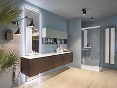 Mobile lavabo sospeso con cassettiELITE 03 - GRUPPO GEROMIN