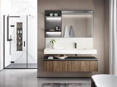 Mobile bagno sospeso con cassettiELITE 07 - GRUPPO GEROMIN