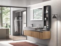 Mobile lavabo sospeso con cassettiELITE 08 - GRUPPO GEROMIN