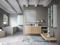 Mobile lavabo sospeso con cassettiELITE 09 - GRUPPO GEROMIN