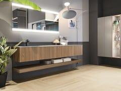 Mobile lavabo sospeso con cassettiELITE 10 - GRUPPO GEROMIN