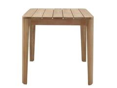 Tavolo da giardino quadrato in teakELIZABETH   Tavolo quadrato - ROSET SAS