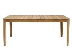 Tavolo da giardino rettangolare in teakELIZABETH   Tavolo da giardino - ROSET SAS