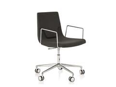 Sedia ufficio operativa ad altezza regolabile girevole con braccioli ELLE 48 | Sedia ufficio operativa ad altezza regolabile - Elle 48