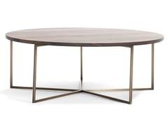 Tavolino basso in pietra e metalloELLIOT   Tavolino basso - BLACK TIE