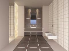 VETROVIVO, ELLY Pavimento/rivestimento in gres porcellanato e vetro