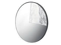 Specchio in marmo a parete ELMO -