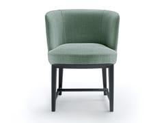 Sedia imbottita in tessuto con braccioliELSA - MOOD BY FLEXFORM