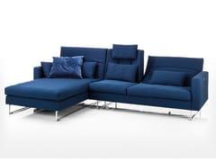Divano in tessuto a 3 posti con chaise longue EMBRACE | Divano a 3 posti - Embrace