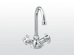 Rubinetto per lavabo monoforo con bocca orientabile EMISFERO | 3217P - Emisfero