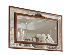 Specchio rettangolare in ciliegio con cornice da pareteEMOZIONI | EMO103 - MARTINI MOBILI