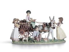Soprammobile in porcellanaENCHANTED OUTING CHILDREN - LLADRÓ