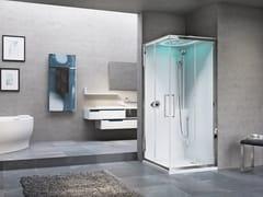 NOVELLINI, EON A Box doccia angolare multifunzione