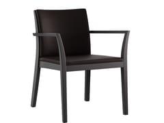 Sedia in legno massello con braccioliEPOS | Sedia con braccioli - MÖBELFABRIK HORGENGLARUS