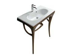 Consolle lavabo in irokoERGO 7156 - GALASSIA