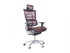 Sedia ufficio ergonomica girevole in rete con braccioliERGO 800 - ARREDIORG