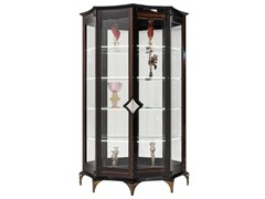 Vetrina in legno e vetro con illuminazione integrataERMES   Vetrina - MANTELLASSI DESIGN