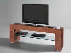 Mobile TV in marmo rosso Alicante ERMETE   Mobile TV - Objects