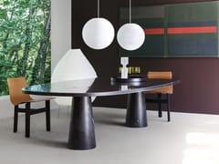 Tavolo ovale in marmoEROS | Tavolo ovale - AGAPECASA