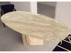 Tavolo ovale in marmo ERSE | Tavolo in marmo - Contemporary