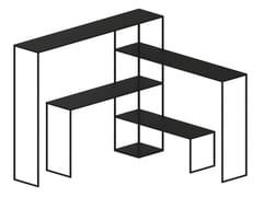 Libreria autoportante in metallo verniciatoEASY BRIDGE - ZEUS