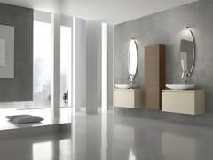 Sistema bagno componibile ESCAPE - COMPOSIZIONE 17 - Escape
